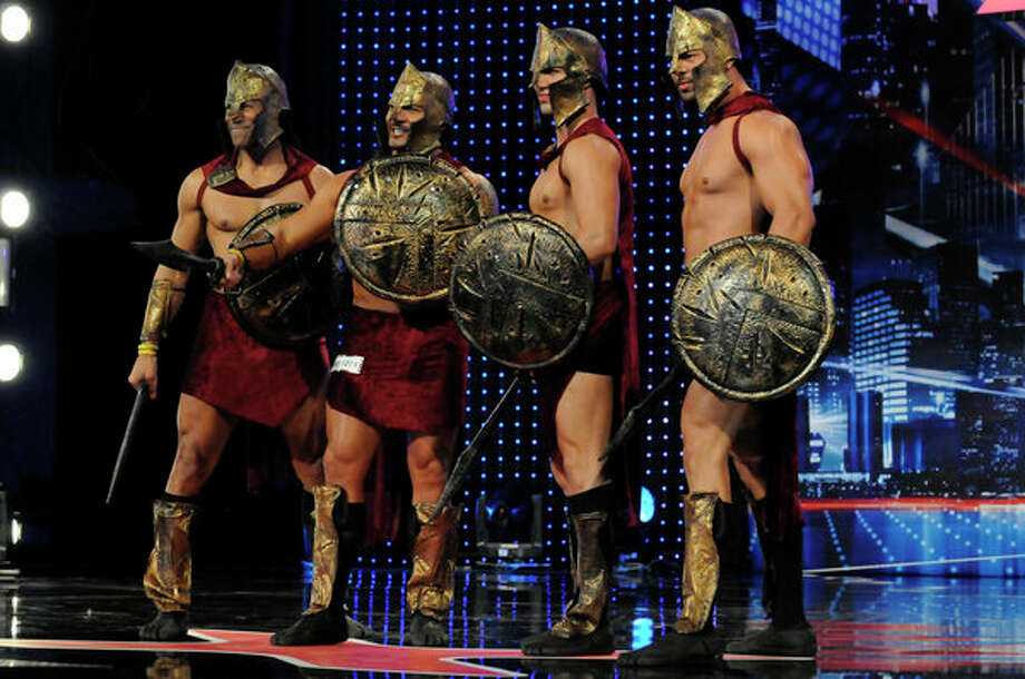 AMERICA'S GOT TALENT -- Episode 805 -- Pictured: Hunk O Mania's International Men of Steel -- Photo: NBC, Bill Records/NBC / 2013 NBCUniversal Media, LLC.
