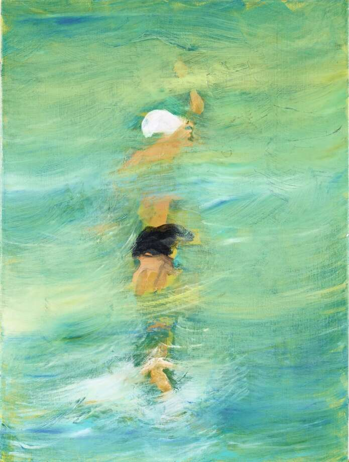 """Swimmers"" by Flicka Mcgurrin."