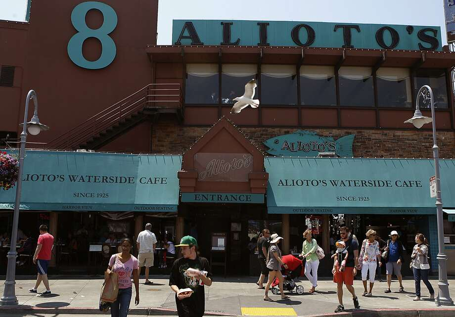 A view of Alioto's at Fisherman's Wharf in San Francisco, Calif., on Tuesday, July 2, 2013. Photo: Liz Hafalia, The Chronicle