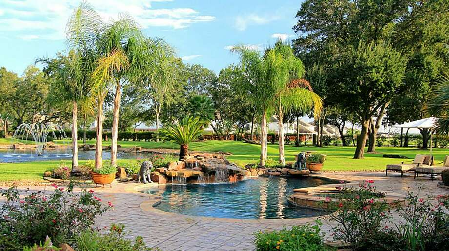 Lush, green landscaping can be found throughout entire property.