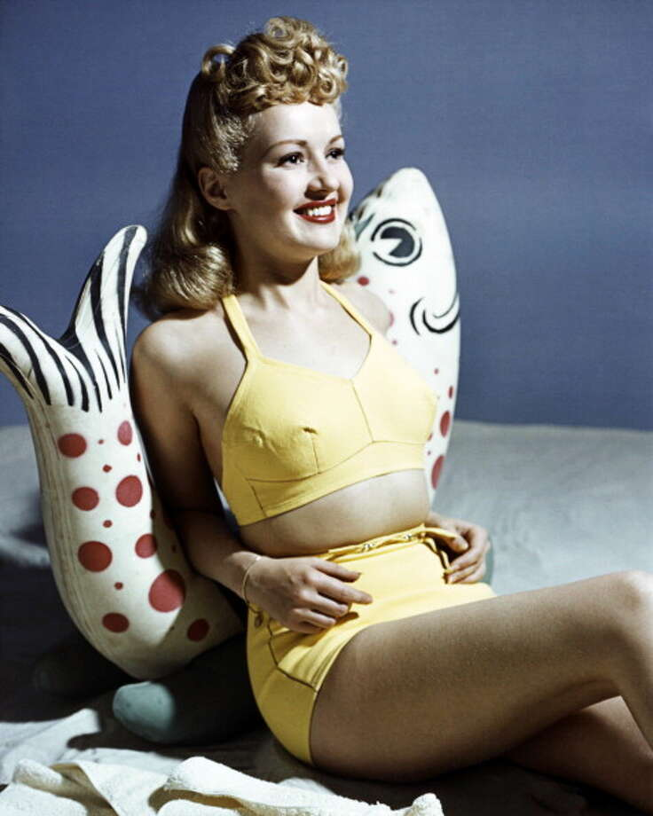 1940: Actress, dancer and singer Betty Grable Photo: Silver Screen Collection, Getty Images / Moviepix