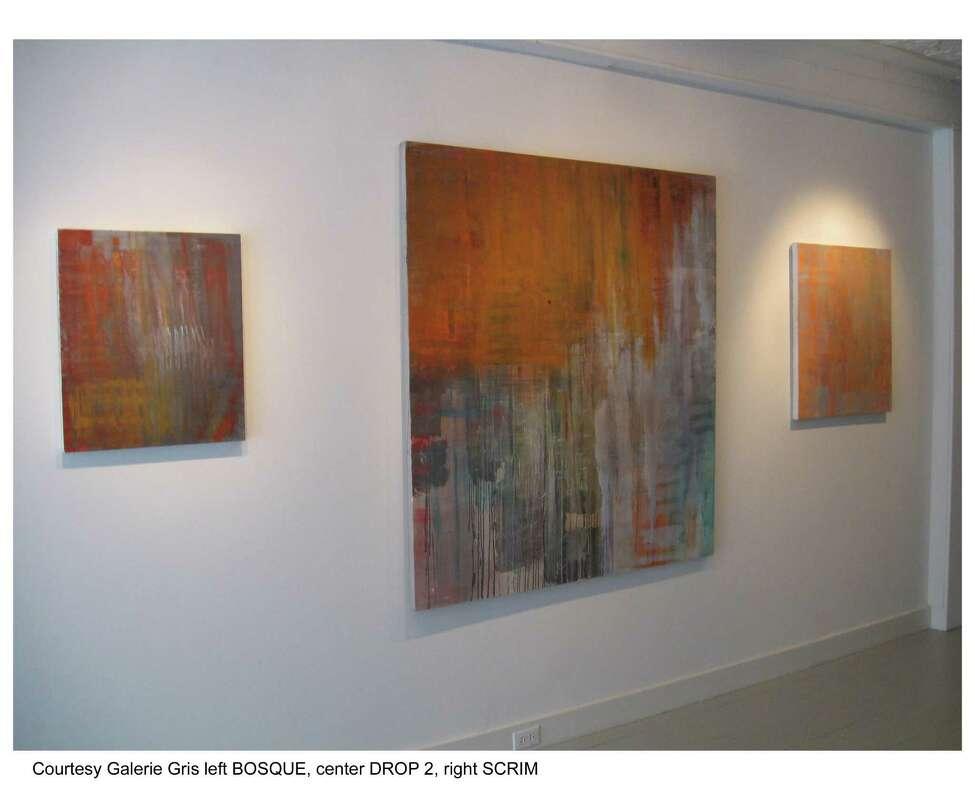 Galerie Gris installation shot of Kylie Heidenheimer's