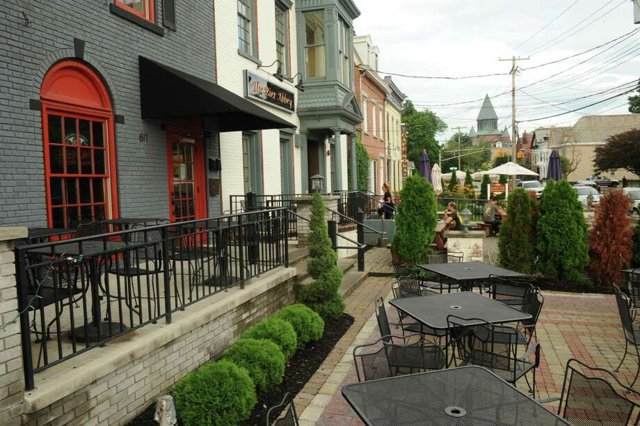 Where is the best place in the Capital Region to sit outdoors and enjoy a bite to eat?  Find out which places made the top four in our Best of the Capital Region reader poll in 2014, and learn about others readers told us they liked. Photo: Michael P. Farrell / 00023034A