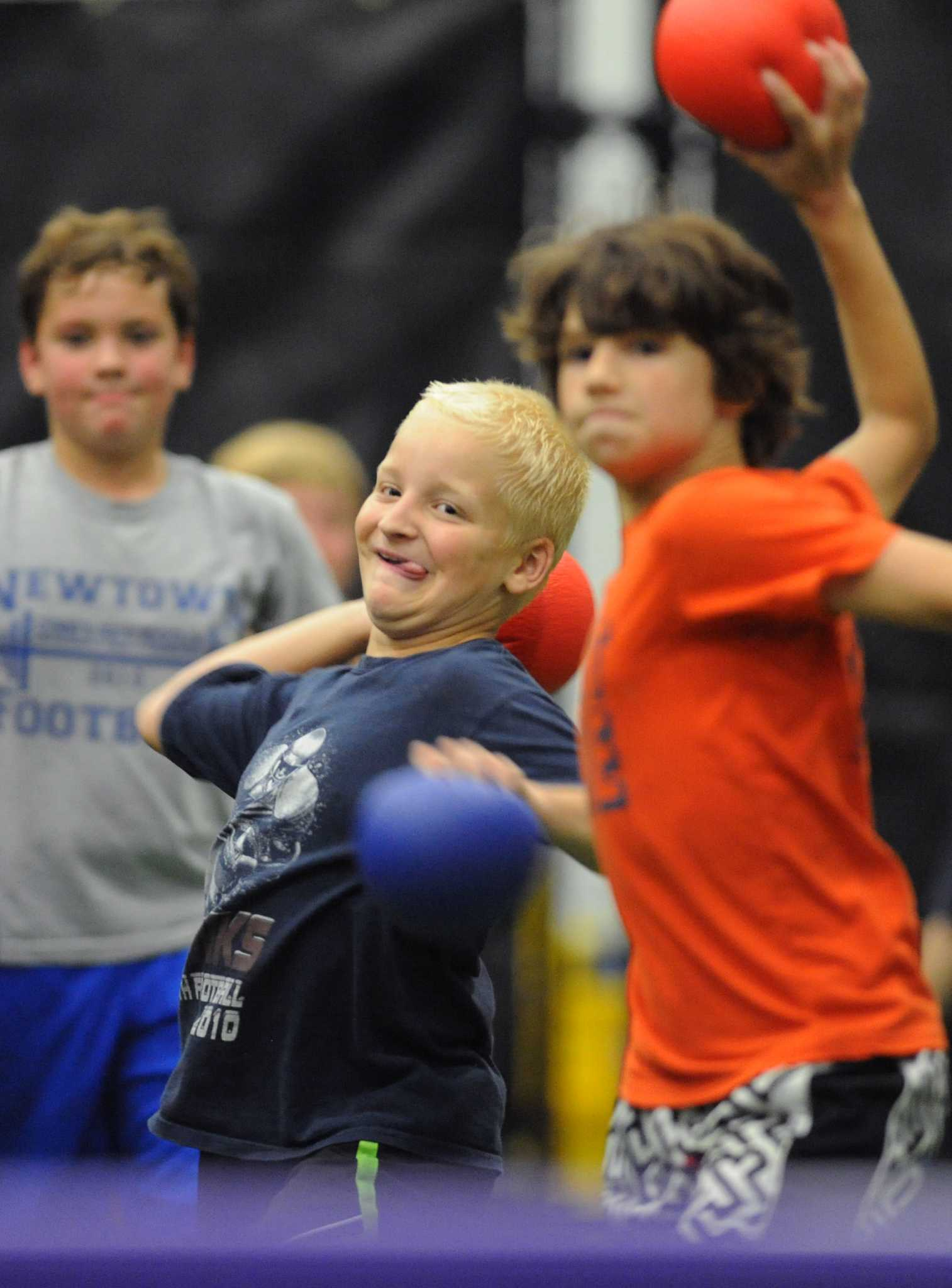 Dodge, duck, dip, dive and dodge -- for all ages - NewsTimes