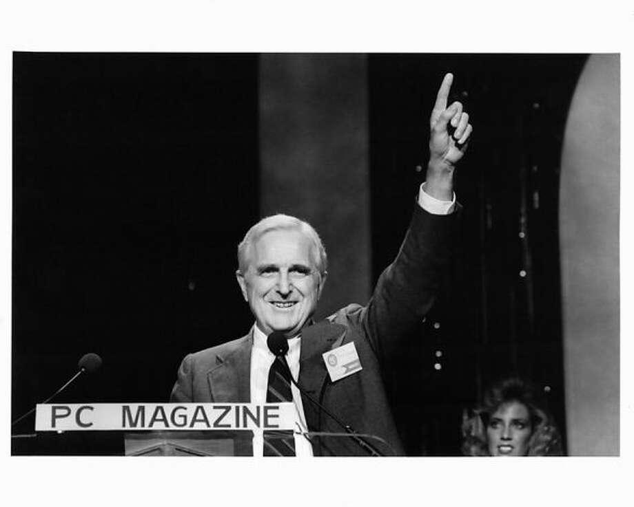 Doug Engelbart, circa 1998.
