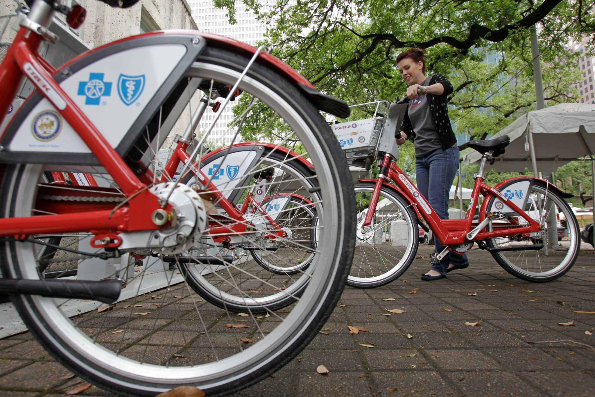 Bike Program Poised For Major Expansion Houston Chronicle