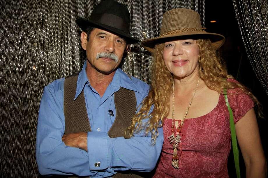 Eduardo Garza and Marta Tavera.
