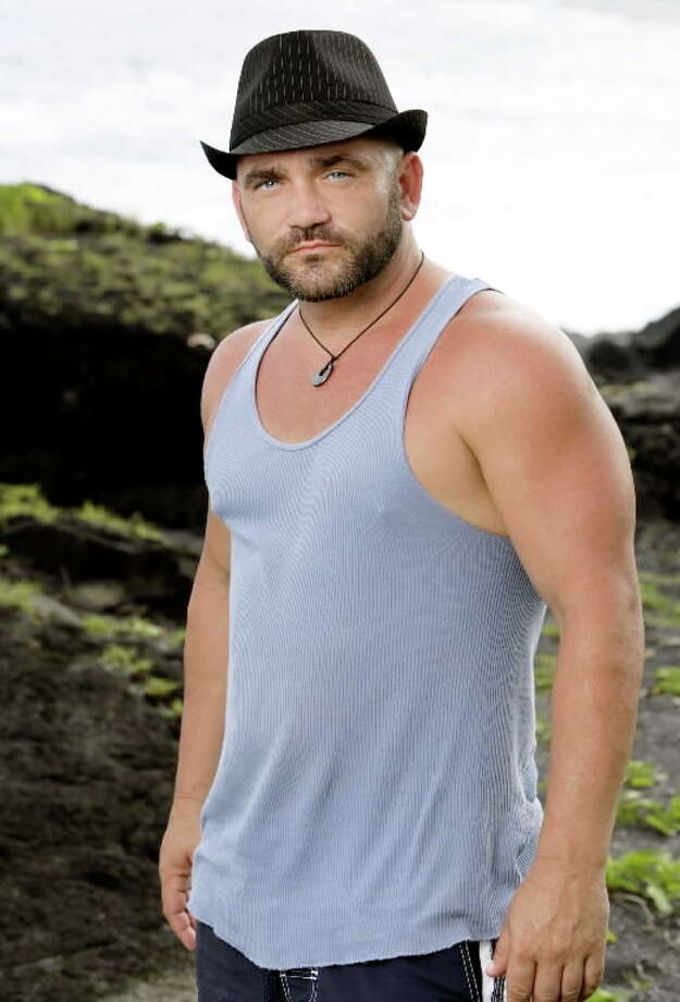 Russell Hantz of Dayton: Survivor: Samoa, Season 19 (2009) Survivor: Heroes versus Villains, Season 20 (2010)