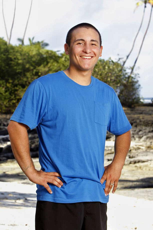 Brandon Hantz of Katy (nephew of Russell): Survivor: South Pacific, Season 23 (2011)