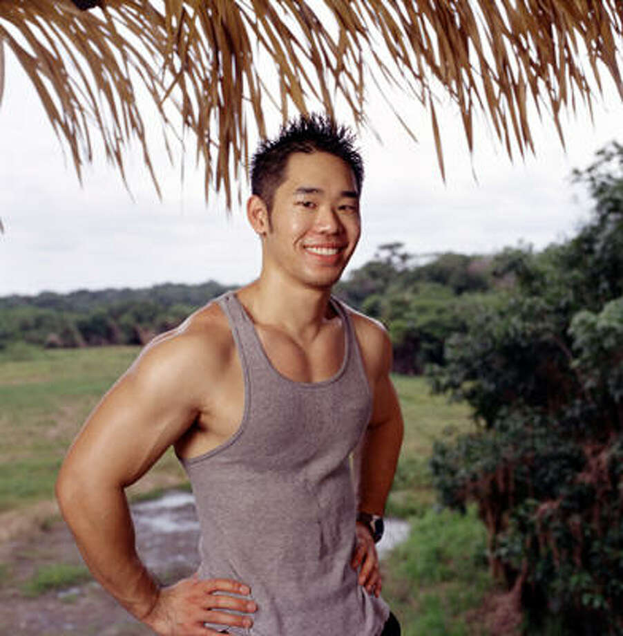 Daniel Lue of Houston: Survivor: The Amazon, Season 6 (2003) Photo: MONTY BRINTON, CBS / ©2002 CBS Worldwide Inc. All Rights Reserved