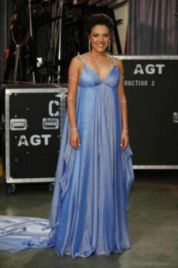 Barbara Padilla of Houston (via Guadalajara, Mexico): America's Got Talent, Season 4 (2009)