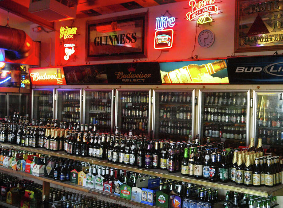 Hills & Dales Ice House, 15403 White Fawn Dr., claims a vast selection of bottled beers. Photo: ROBERT MCLEROY, SPECIAL TO THE EXPRESS-NEWS / SPECIAL TO THE EXPRESS-NEWS