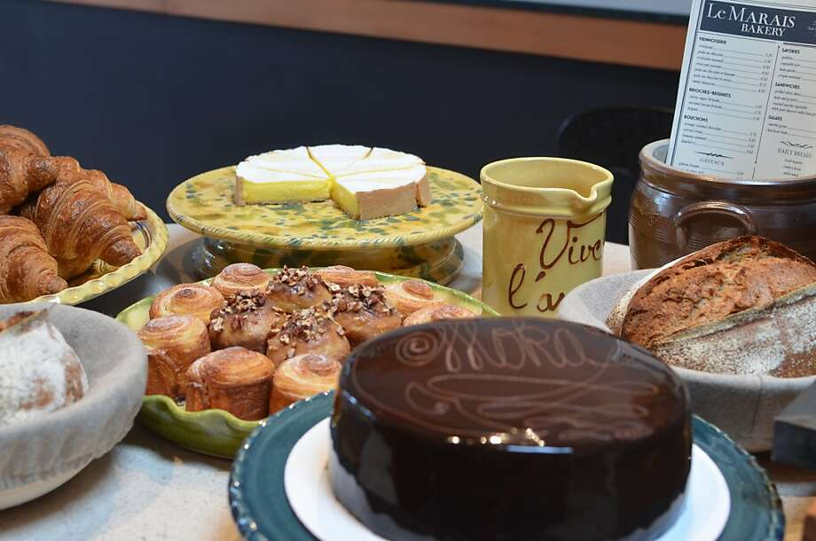 Le Marais features a wide variety of Parisian-style baked goods. Photo: Michelle Deasy