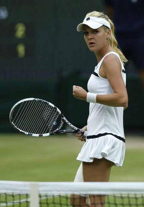 Agnieszka Radwanska (above) and semifinal foe Sabine Lisicki have yet to win a Grand Slam. Photo: Sang Tan / Associated Press