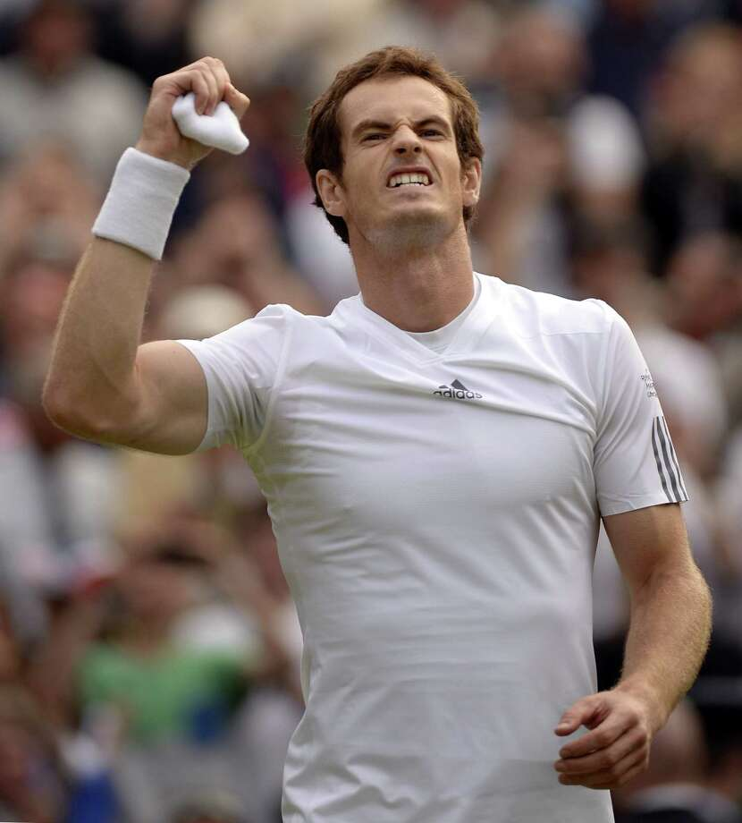 Andy Murray needs two more victories to become the first British man to win Wimbledon in 77 years. Photo: ADRIAN DENNIS, Staff / AFP