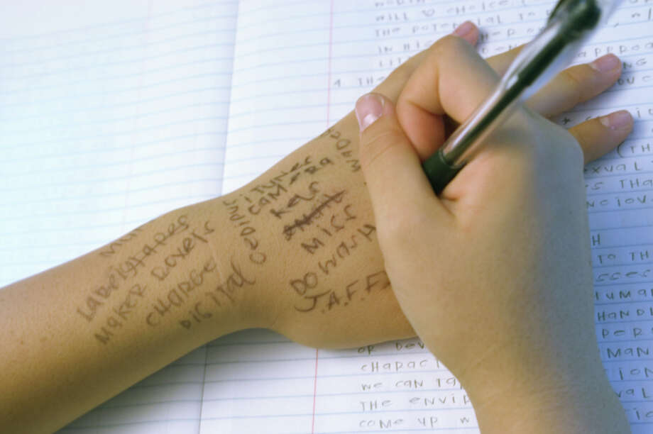''Penmanship'' is now ''handwriting.'' Photo: Ingram Publishing, Getty Images/Ingram Publishing / Ingram Publishing