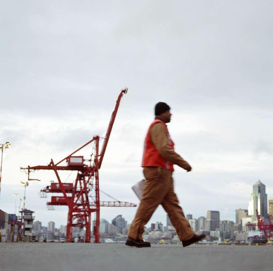 Longshoremen are now ''longshore workers.''