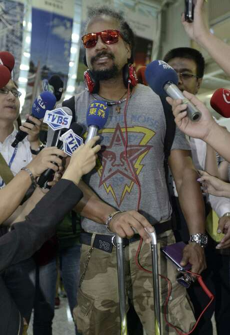 Manny Ramirez, 41, left his team in Taiwan on June 20 after three months. His last MLB action came in 2011 with the Rays. Photo: Associated Press