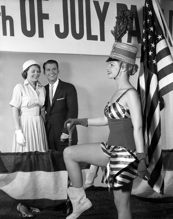 "Dick Clark and wife Barbara celebrate the Fourth of July on ""American Bandstand"" in 1959. Photo: ABC Photo Archives, ABC Via Getty Images / 2010 American Broadcasting Companies, Inc."