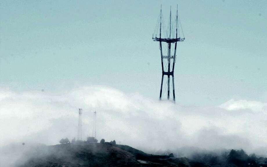 Another fog photo, this time up close. Photo: Chris Hardy, The Chronicle / SAN FRANCISCO CHRONICLE