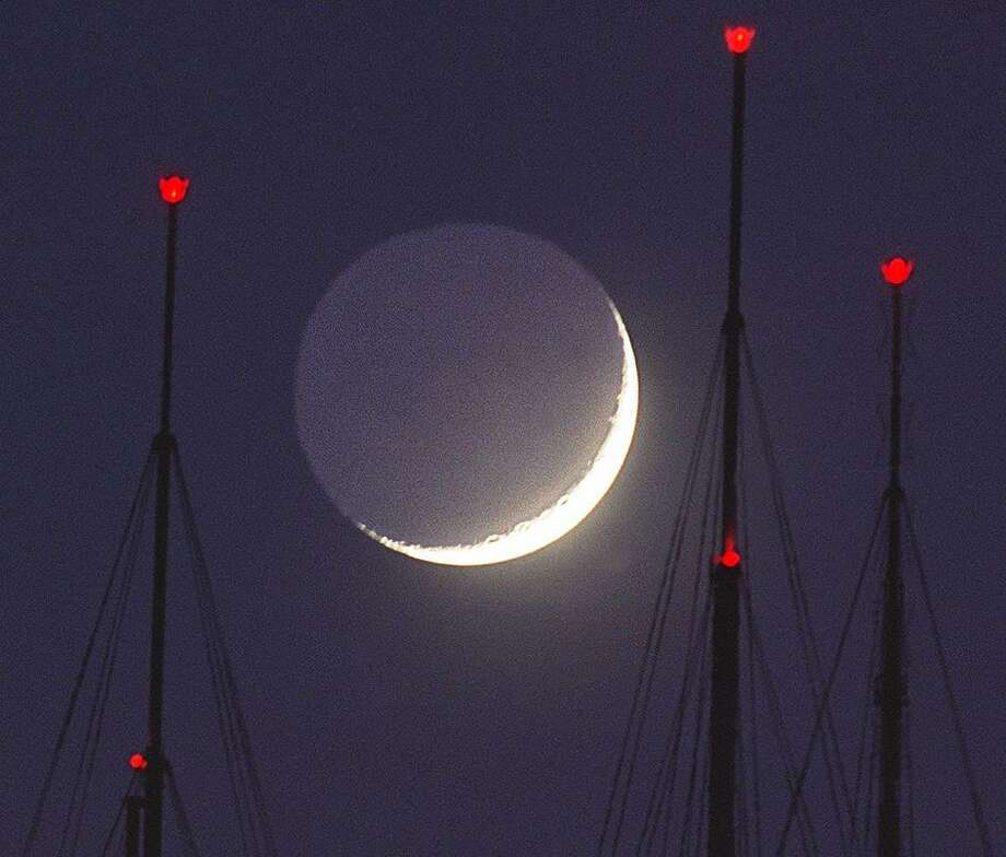 We'll end with the great Fred Larson, and the antennas at night. Photo: FREDERIC LARSON / THE CHRONICLE