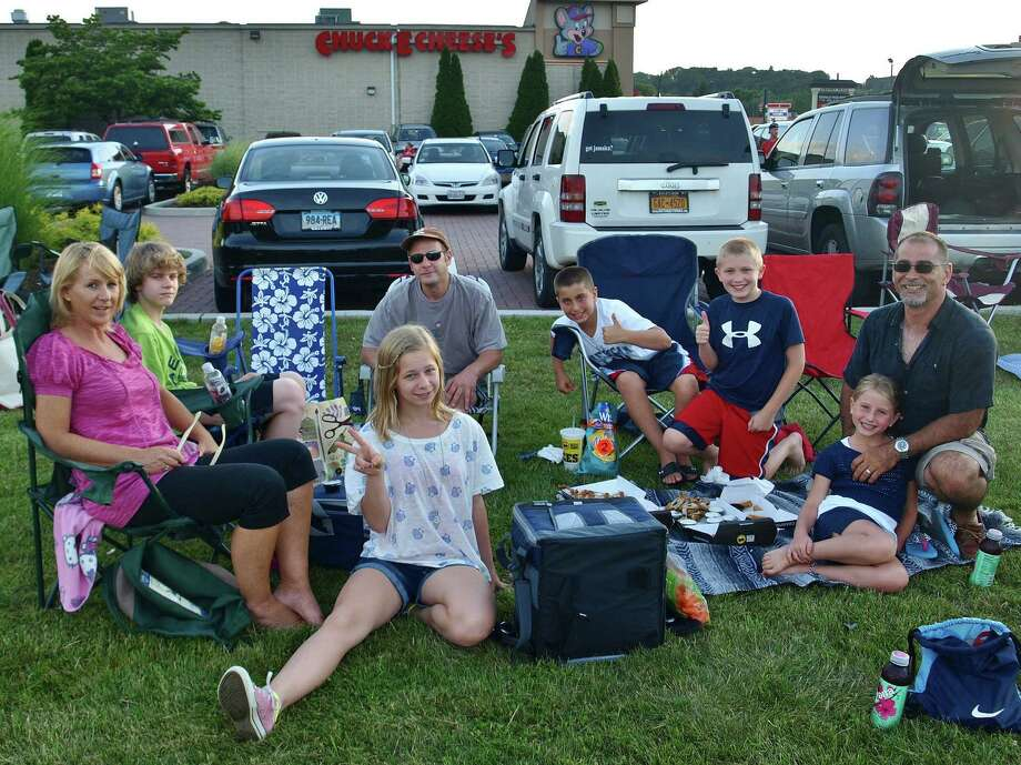 Were you SEEN at the fireworks show at the Danbury Fair Mall on July 3rd? Photo: Nuria Ryan
