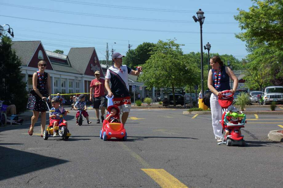 Were you SEEN at the Push or Pull Parade in Darien? 7/4/2013 Photo: Todd Tracy/ Hearst Connecticut Media Group