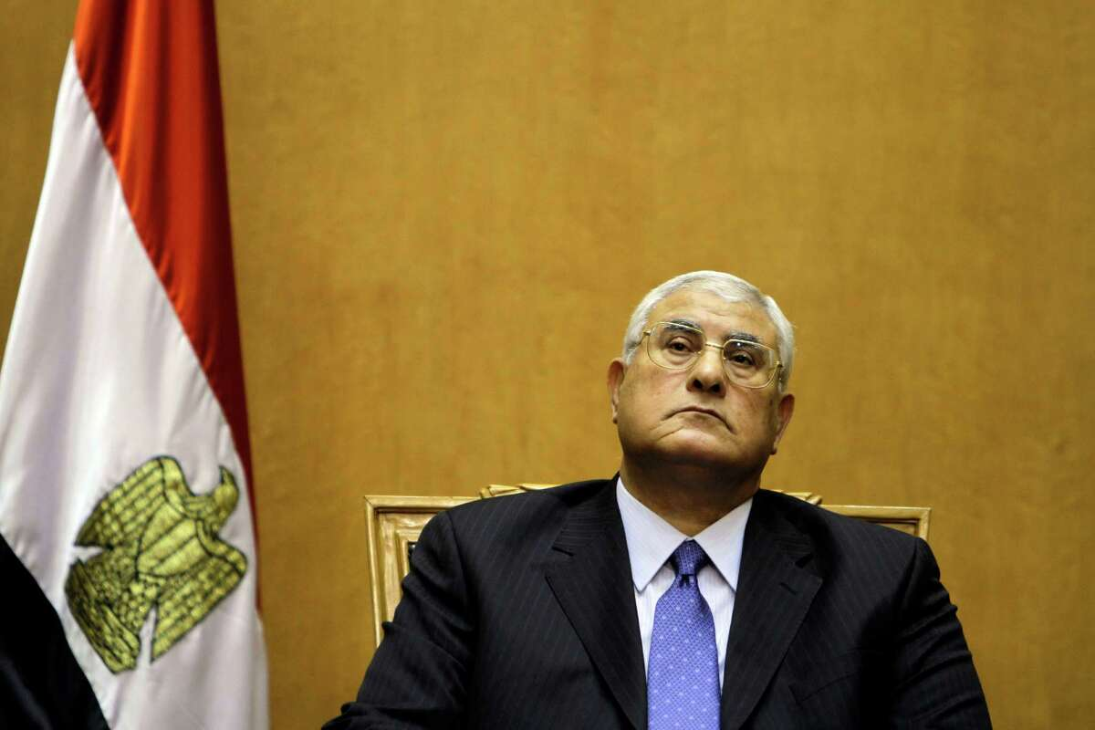 #2: So who's president now? Meet Adly Mansour, interim president. Prior, he was the president of the Supreme Constitutional court and was appointed by Morsi. He was sworn into office to replace Morsi on July 4, and will theoretically remain in office until an election takes place.