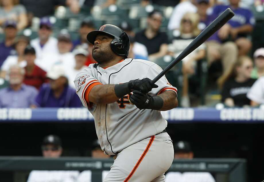 Pablo Sandoval Photo: David Zalubowski, Associated Press