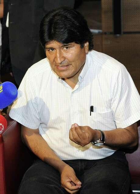 Evo Morales says the incident involving his plane was a provocation to the region.