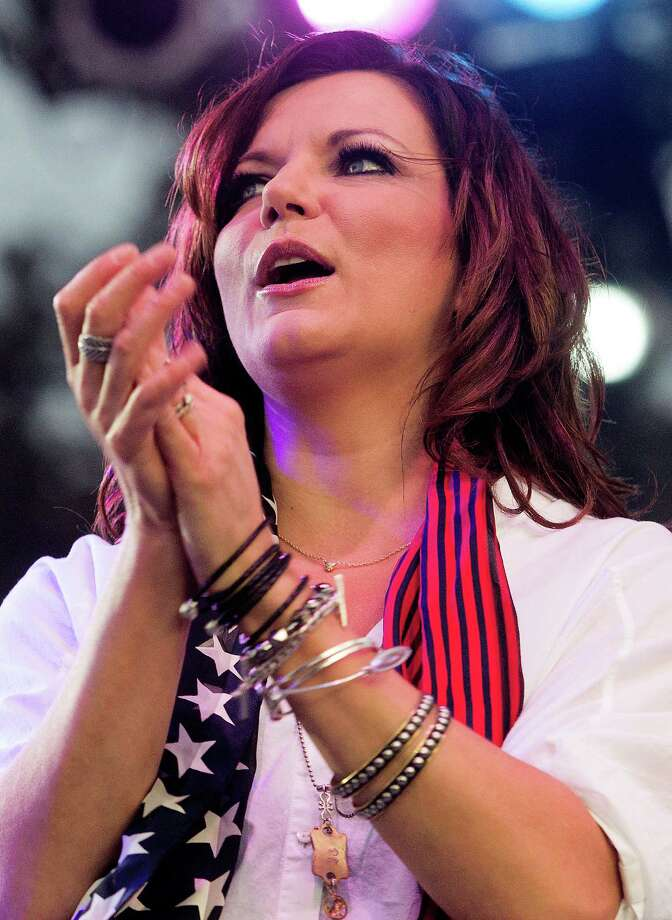 Country singer Martina Mcbride performs during the Freedom Over Texas festival at Eleanor Tinsley Park on Thursday, July 4, 2013, in Houston. Photo: J. Patric Schneider, For The Chronicle / © 2013 Houston Chronicle
