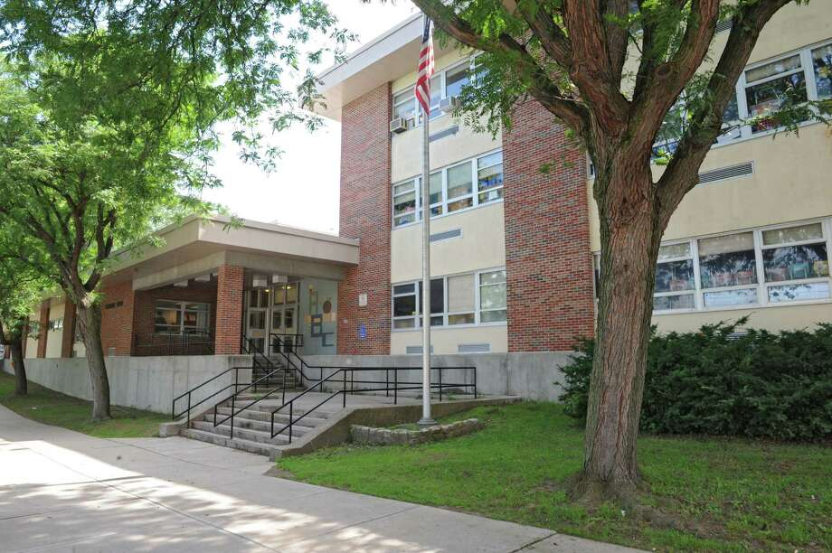 Exterior of School 2 Wednesday, July 3, 2013, in Troy, N.Y. Jason Goldner was recently hired as the new school principal (Lori Van Buren / Times Union) Photo: Lori Van Buren / 00023046A