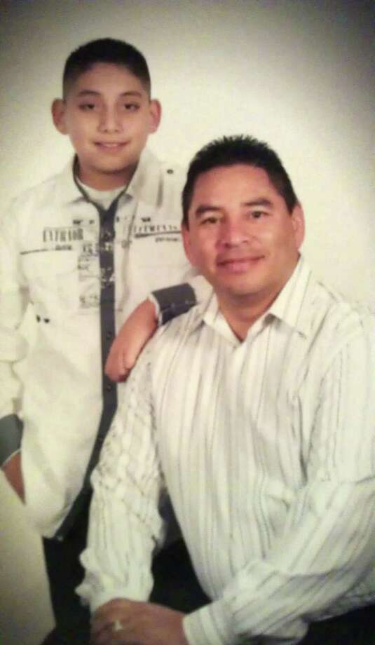 Charles White was fatally injured June 17 when a motorist ran into him. His son Anthony Justin White, 13, ran for help and encountered two Good Samaritans. Photo: Courtesy Photo