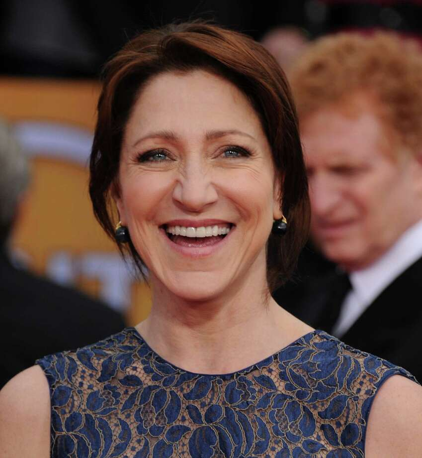 Actress Edie Falco arrives at the 19th Annual Screen Actors Guild Awards at the Shrine Auditorium in Los Angeles on Sunday Jan. 27, 2013. (Photo by Jordan Strauss/Invision/AP) Photo: Jordan Strauss / Invision