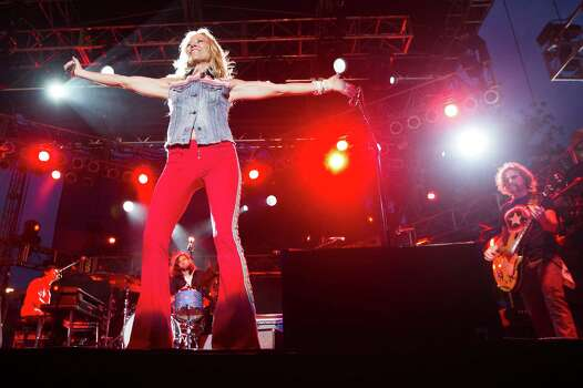Singer-songwriter Sheryl Crow performs during the Freedom Over Texas festival at Eleanor Tinsley Park on Thursday, July 4, 2013, in Houston. Photo: J. Patric Schneider, For The Chronicle / © 2013 Houston Chronicle