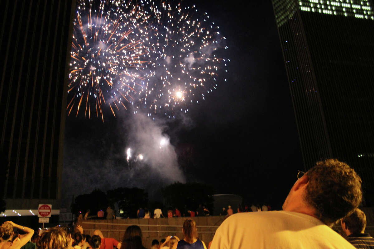 Were you Seen celebrating at the Fourth of July festivities on Thursday at the Empire State Plaza in Albany?