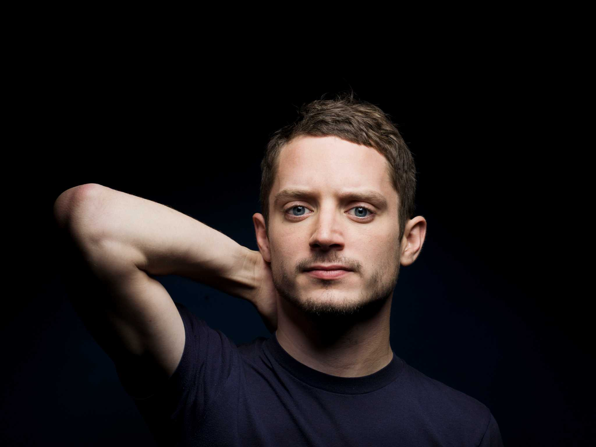 Horror films equal happiness for actor Elijah Wood ...