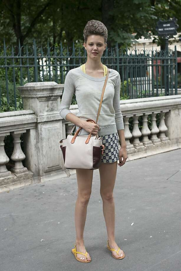 Model Lindsey Wixson on day 3 of Paris Collections: Women's Haute Couture on July 03, 2013 in Paris, France.  (Photo by Kirstin Sinclair/FilmMagic) Photo: Kirstin Sinclair, FilmMagic
