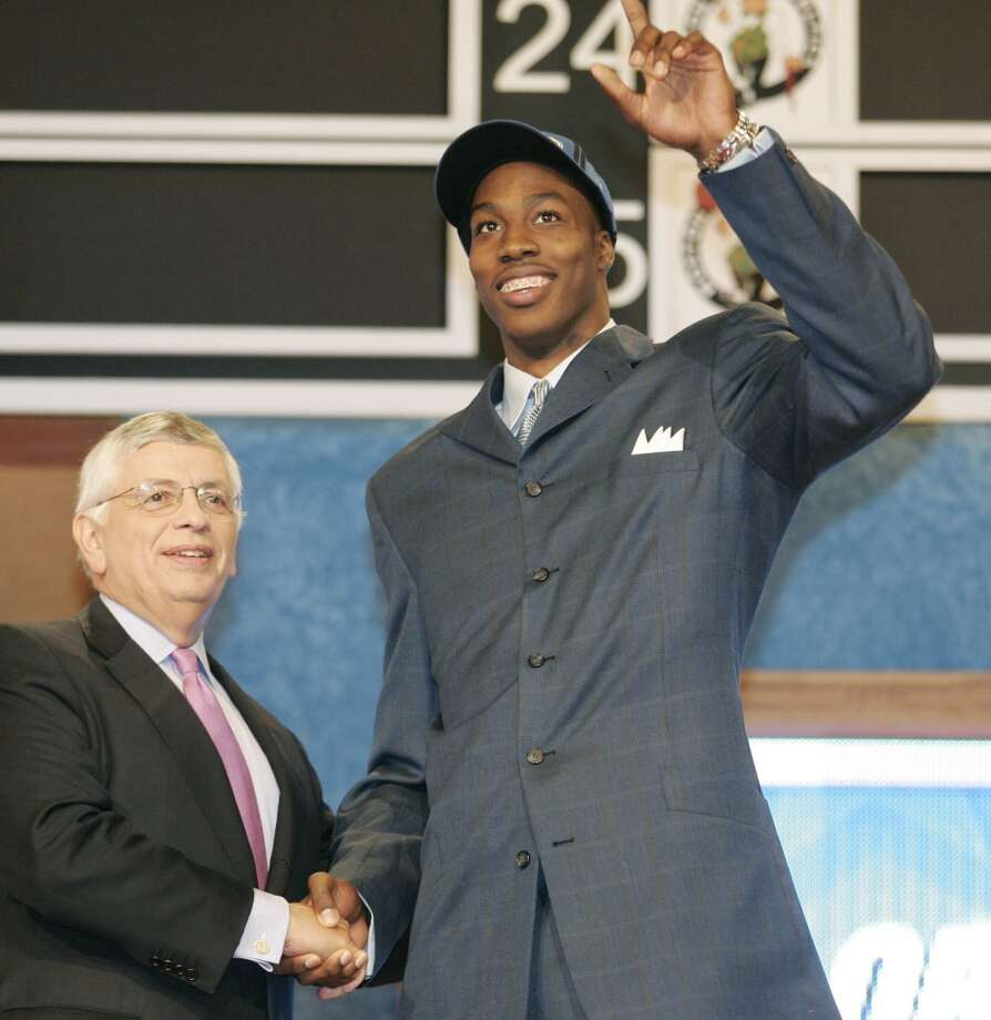 The Orlando Magic selected Howard with the No. 1 overall pick in the 2004 draft. Photo: Ed Betz, Associated Press