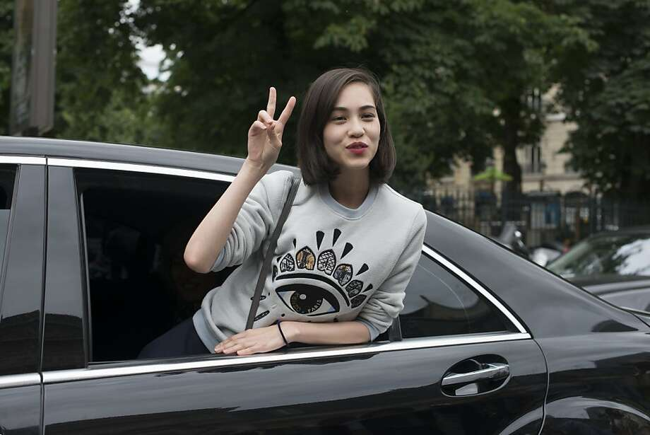 Model and Actress Kiko Mizuhara on day 3 of Paris Collections: Women's Haute Couture on July 03, 2013 in Paris, France.  (Photo by Kirstin Sinclair/FilmMagic) Photo: Kirstin Sinclair, FilmMagic
