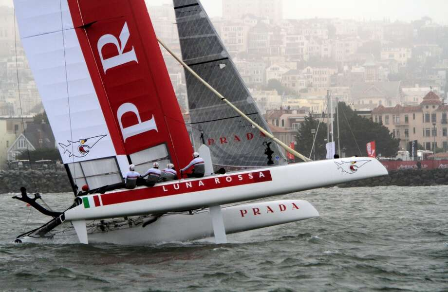 Max Sirena, skipper of the Italy's Luna Rossa Classic, said Friday his team may sit out Sunday's scheduled first race in the Louis Vuitton Cup challengers series in protest to new rules regarding rudder elevators.