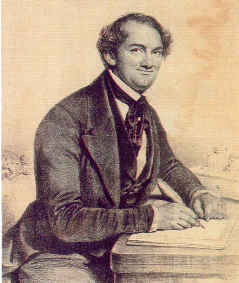 The anniversary of P.T. Barnum's 203rd birthday will be observed with a Birthday Bash, Friday, July 5, 2013, at Connecticut's Beardsley Zoo in Bridgeport, Conn. Above, Barnum is depicted as a young man and foreign correspondent, from the Barnum Museum collection.