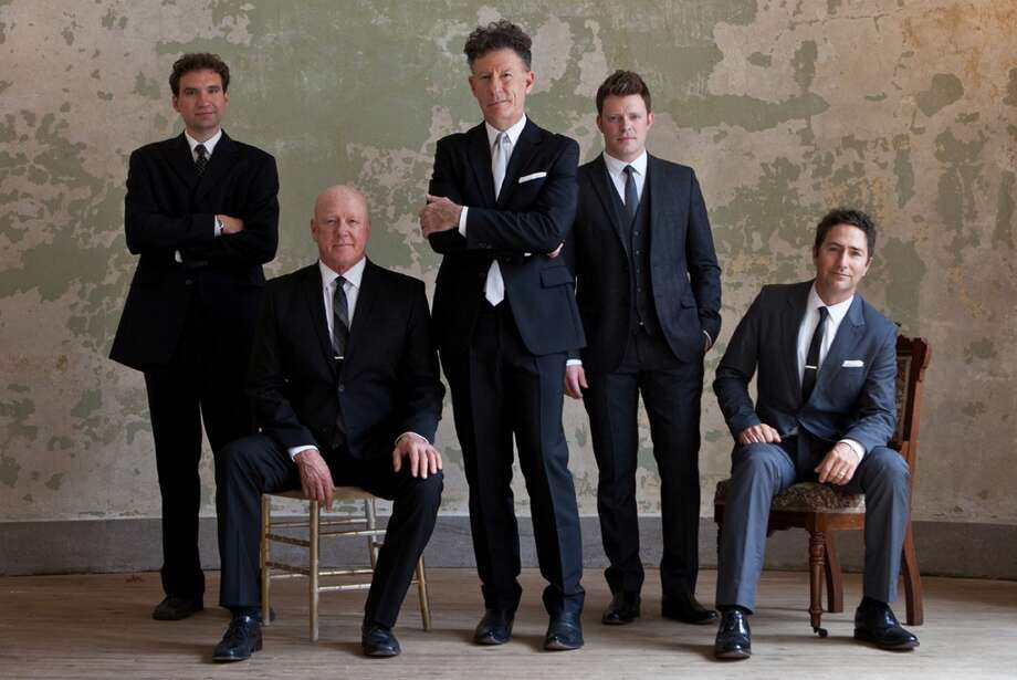 The Ridgefield Playhouse in Ridgefield, Conn., will feature singer, songwriter and actor Lyle Lovett and his Acoustic Group on Monday, July 8, 2013.