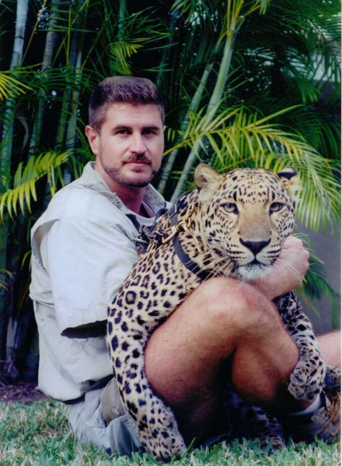 Grant Kemmerer, shown here with one of his big cats, will bring his Wild World of Animals show to the Palace Theatre in Stamford, Conn., for a morning show on Tuesday, July 9, 2013. Tickets are $10. For more information, visit http://www.scalive.org.