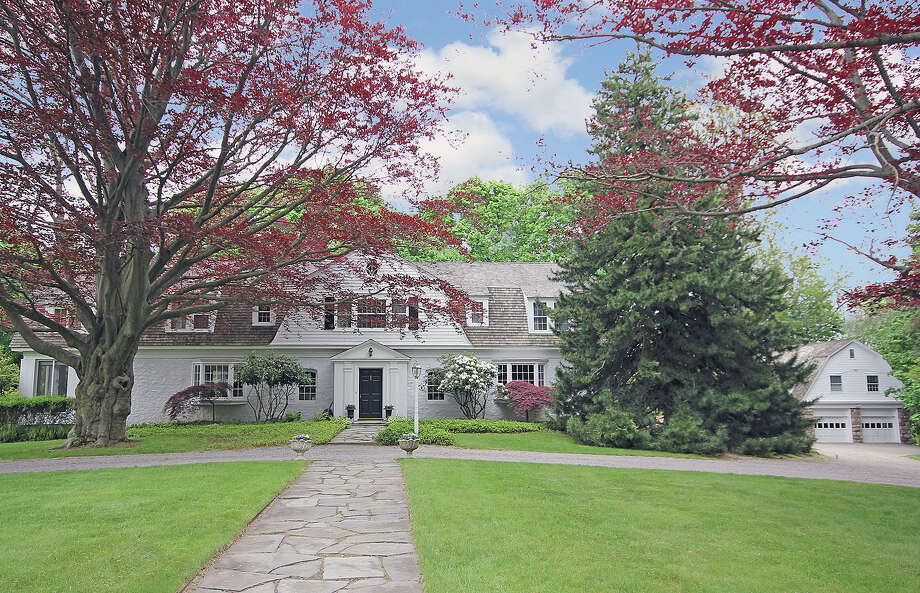 The house at 238 Greens Farms Road is on the market for $1.695 million. Photo: Contributed Photo / Westport News