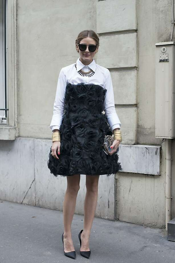 TV personality Olivia Palermo wears a Valentino dress on day 3 of Paris Collections: Women's Haute Couture on July 03, 2013 in Paris, France.  (Photo by Kirstin Sinclair/FilmMagic) Photo: Kirstin Sinclair, FilmMagic
