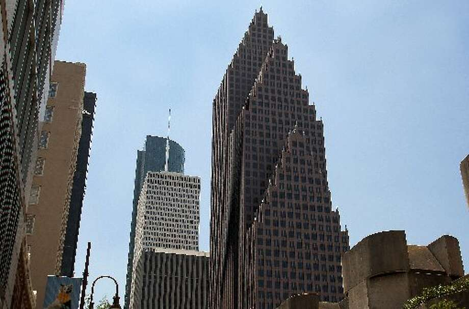 3. Bank of America Center: 56 floors