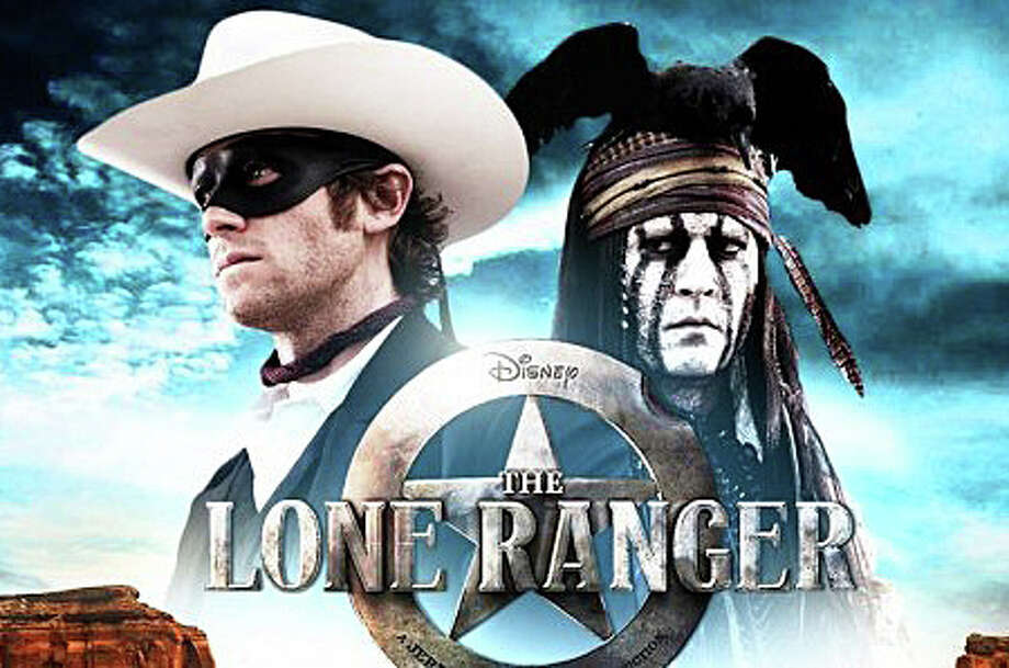"A new version of ""The Lone Ranger,"" starring Johnny Depp as Tonto, is playing in area movie theaters. Photo: Contributed Photo / Westport News contributed"