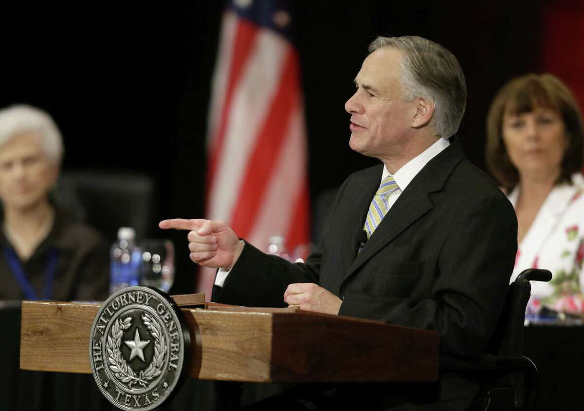 Texas Attorney General Greg Abbott has pushed hard to implement a Voter ID law, and minority voters may feel he is trying to suppress their vote.