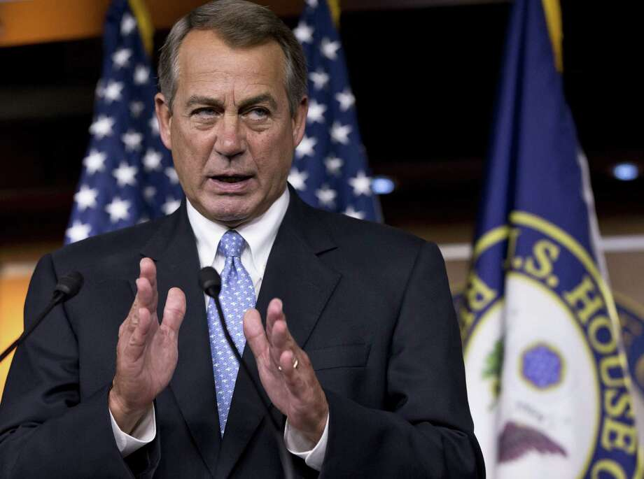 House Speaker John Boehner is planning a closed meeting of the Republican caucus on Wednesday to determine how to proceed on immigration reform legislation. Photo: Associated Press